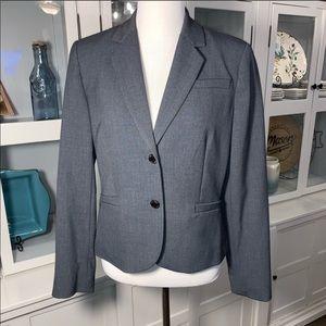 Calvin Klein 2 Button Blazer - Gray Sz 12P